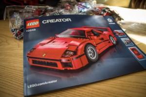 Vellum Venom Antidote: In Defense of the Lego F40